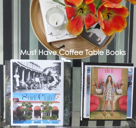 recommended coffee table books | flat 15 design & lifestyle