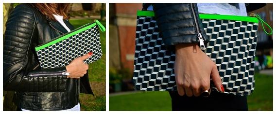 geometric bag - only ella