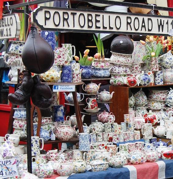 Portobello Road Market London Flat 15 Design amp Lifestyle : portobello sign from flat15.com size 564 x 583 jpeg 185kB