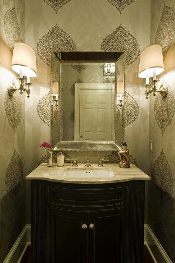 arabic style powder room