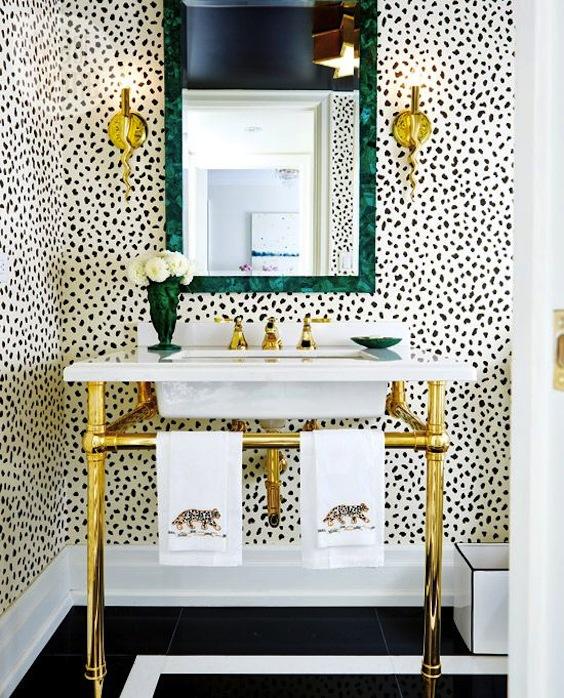 safari powder room