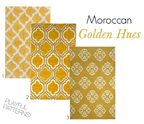 Moroccan Golden Hues