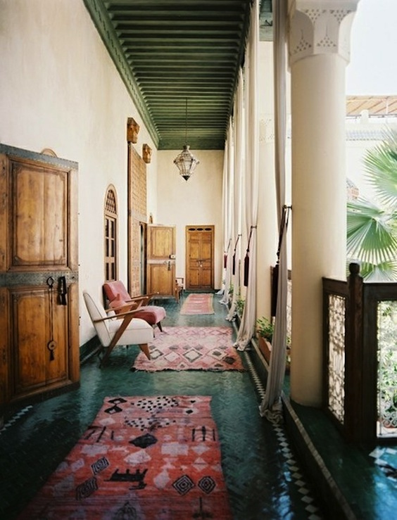 Moroccan Saturated Rugs