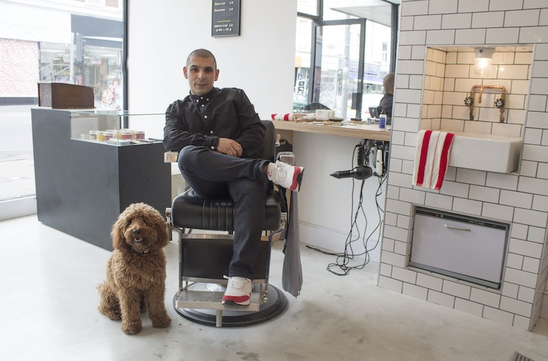 Barber and frank