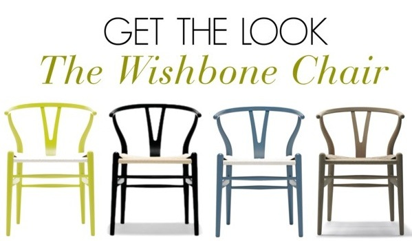 get the look wishbone chair