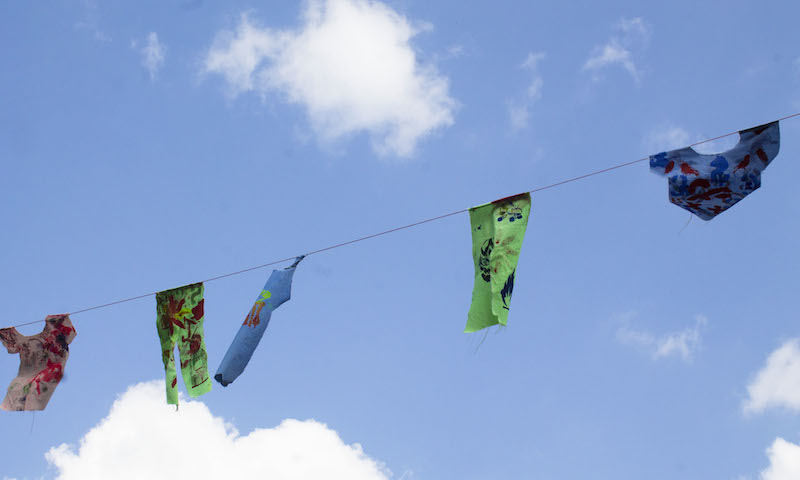 Clothesline cropped