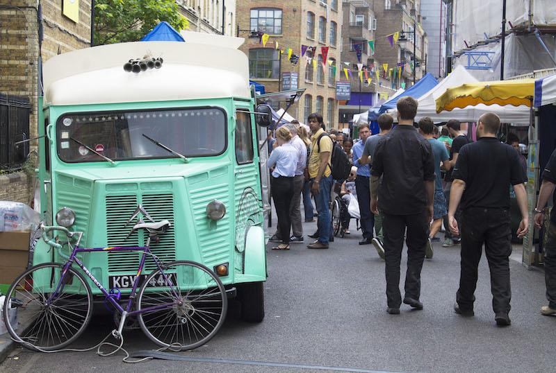 Mint food truck