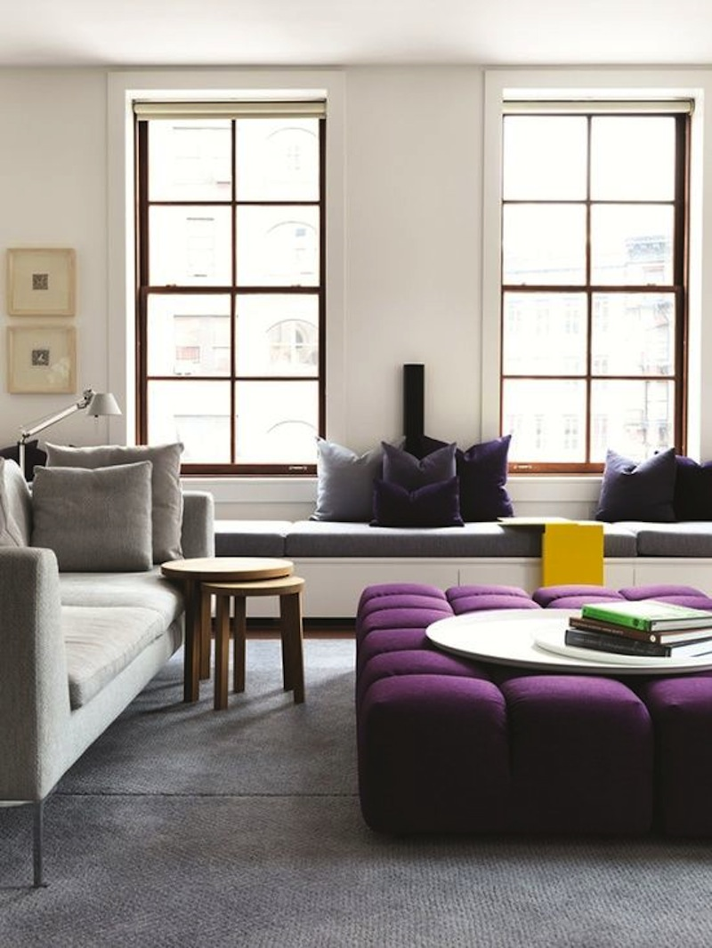 Purple Interior - Flat 15