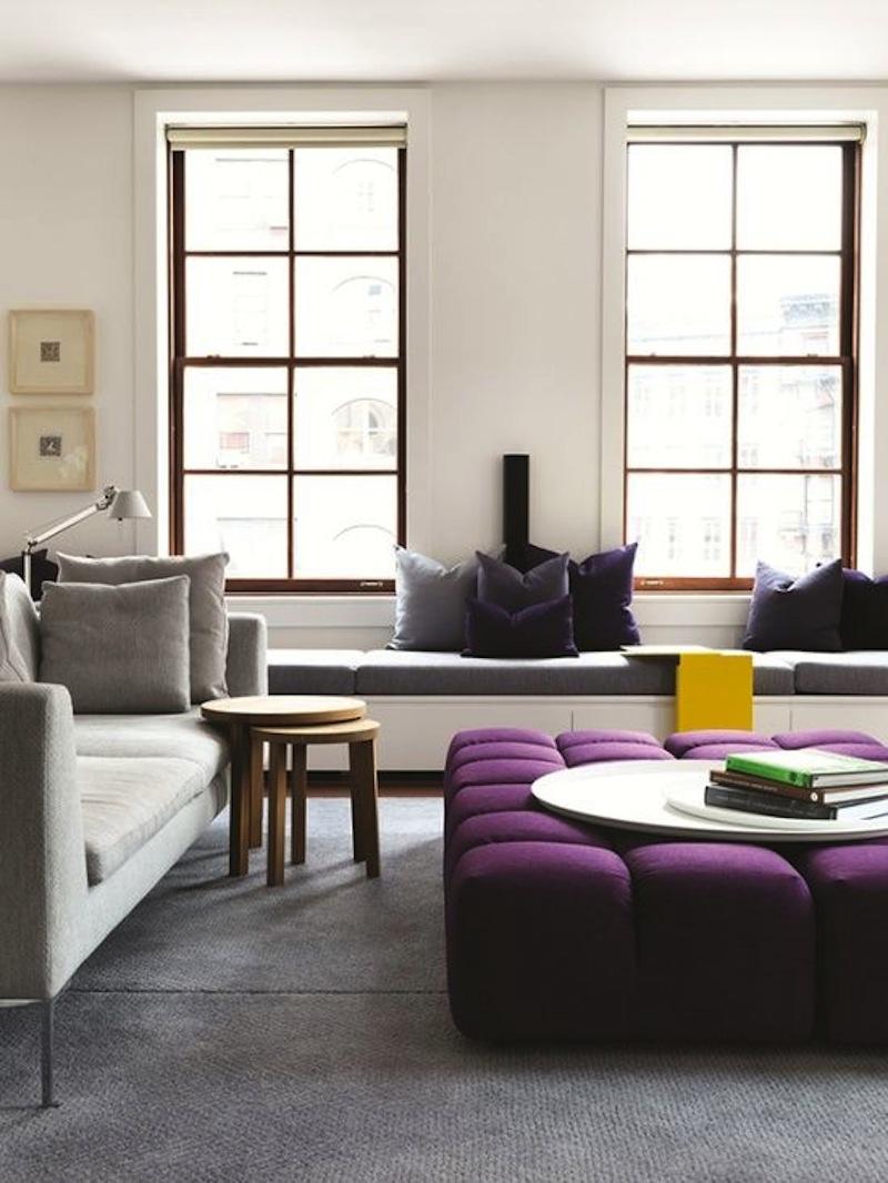 Purple Interior - Flat 15