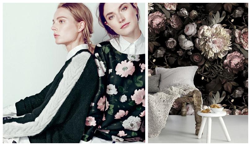 Fashion Meets Decor - Dark Florals