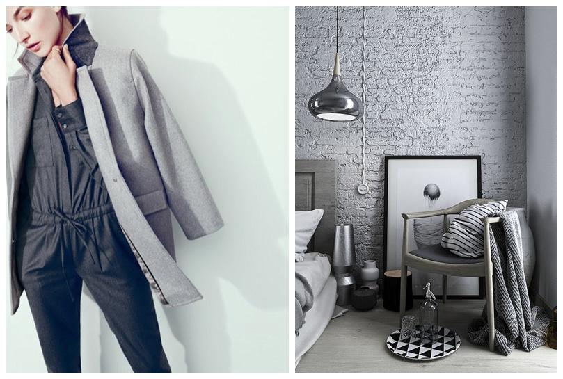 Fashion Meets Decor - grey on grey