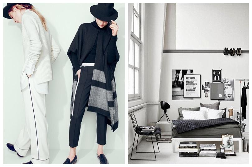 Fashion Meets Decor - monochrome