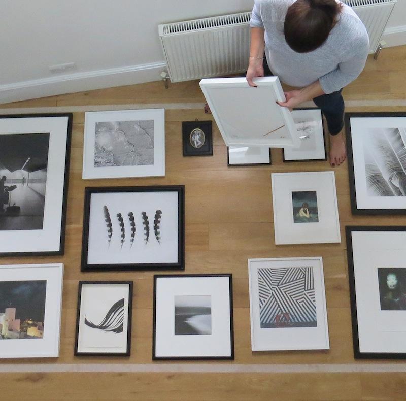 Arrange Frames On Ground