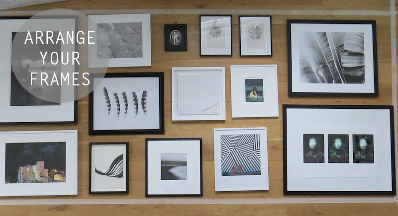 Arrange Frames on Floor copy