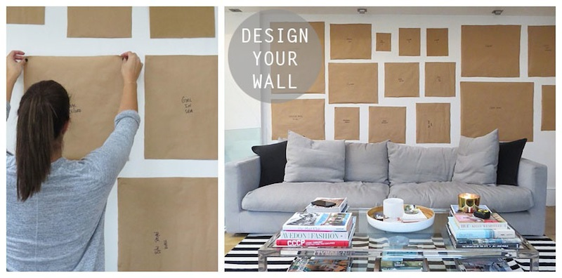 Gallery Wall Design how to create a gallery wall | flat 15