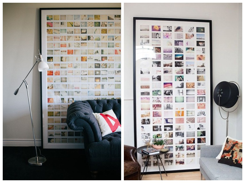 Polaroids in Large Frame