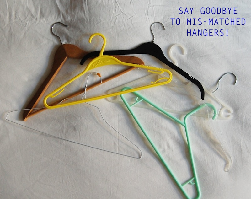 Say Goodbye To Mismatched Hangers