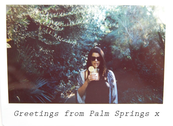 Greeting From Palm Springs