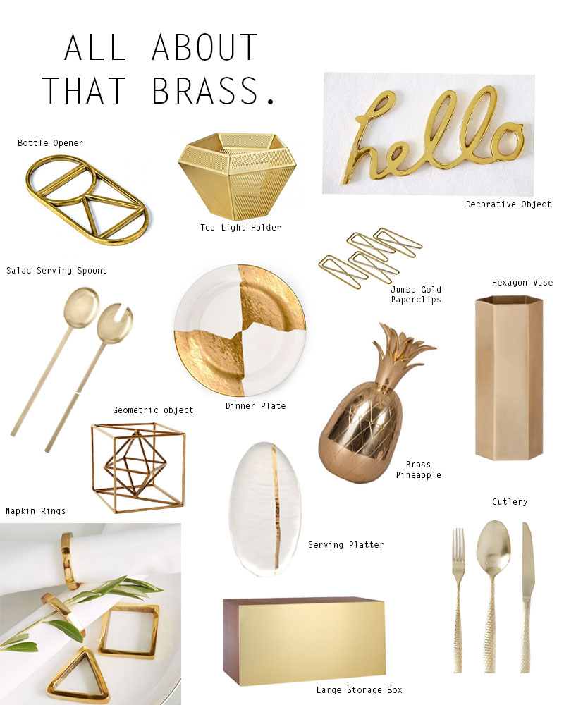 Gold Accents Decor For Your Home FLAT 15 Design