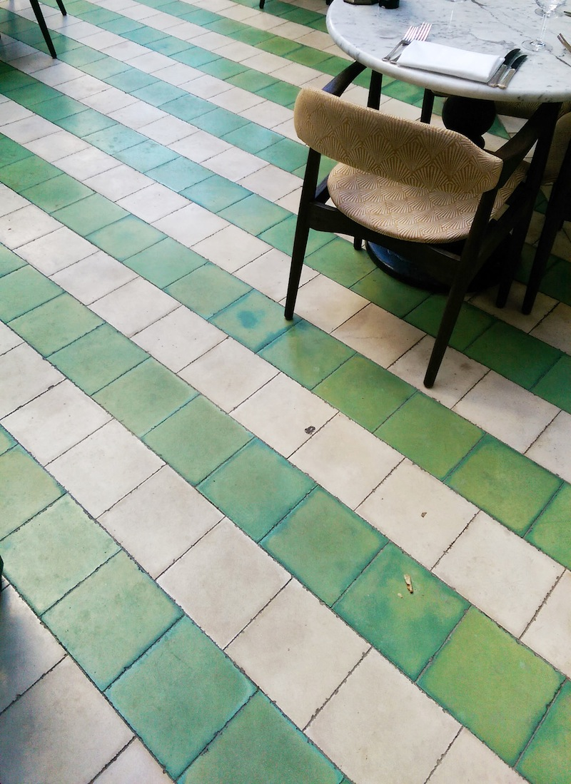 striped floors