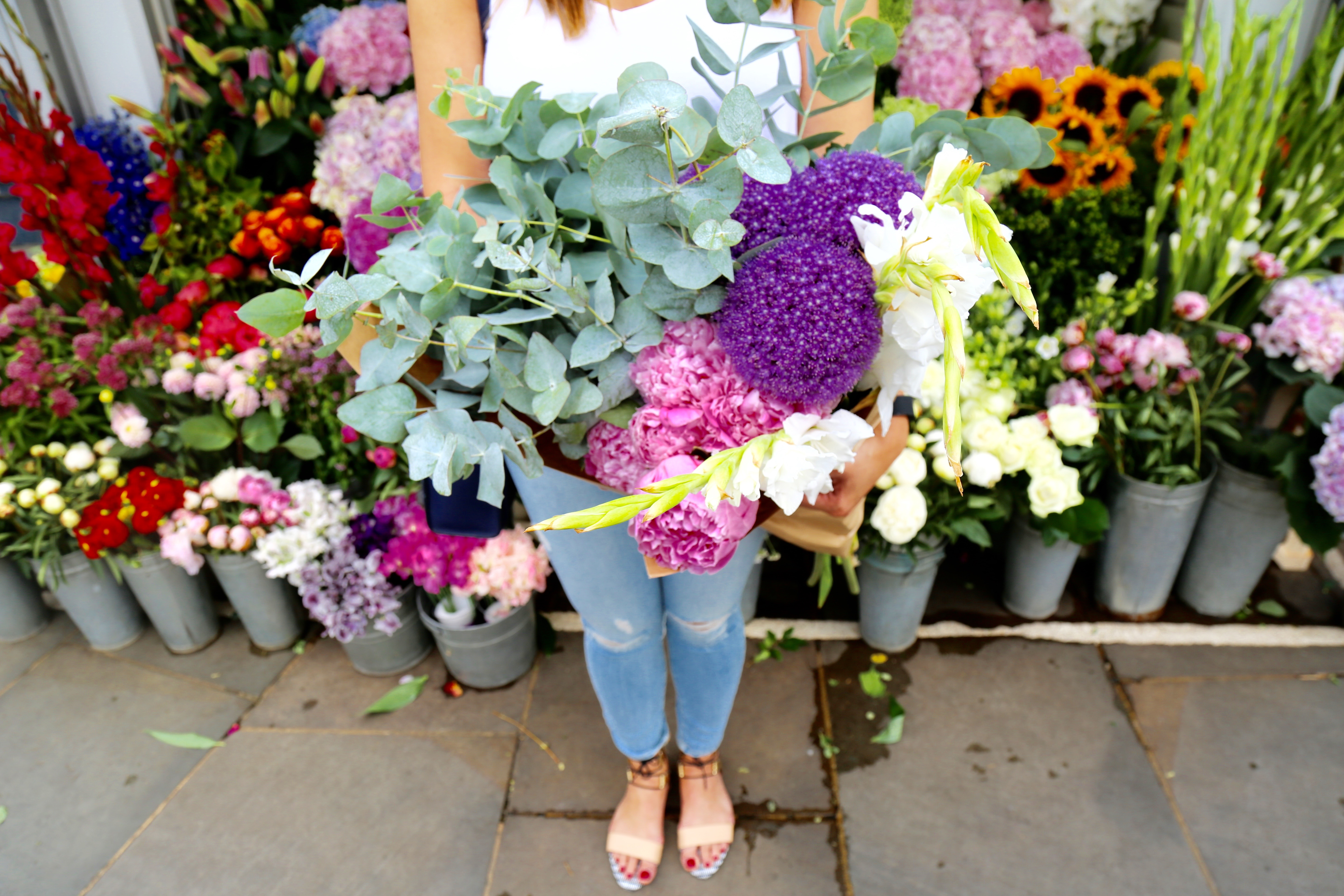 Top 10 Flower Stands In London