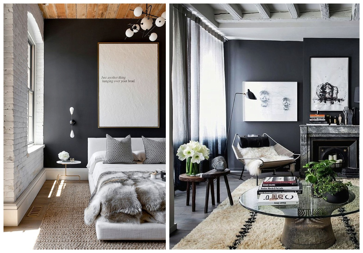 Bold Neutrals  If you are on the fence about adding a strong grey hue,  just keep your room decor all neutral in color. As grey is part of the  neutral ...