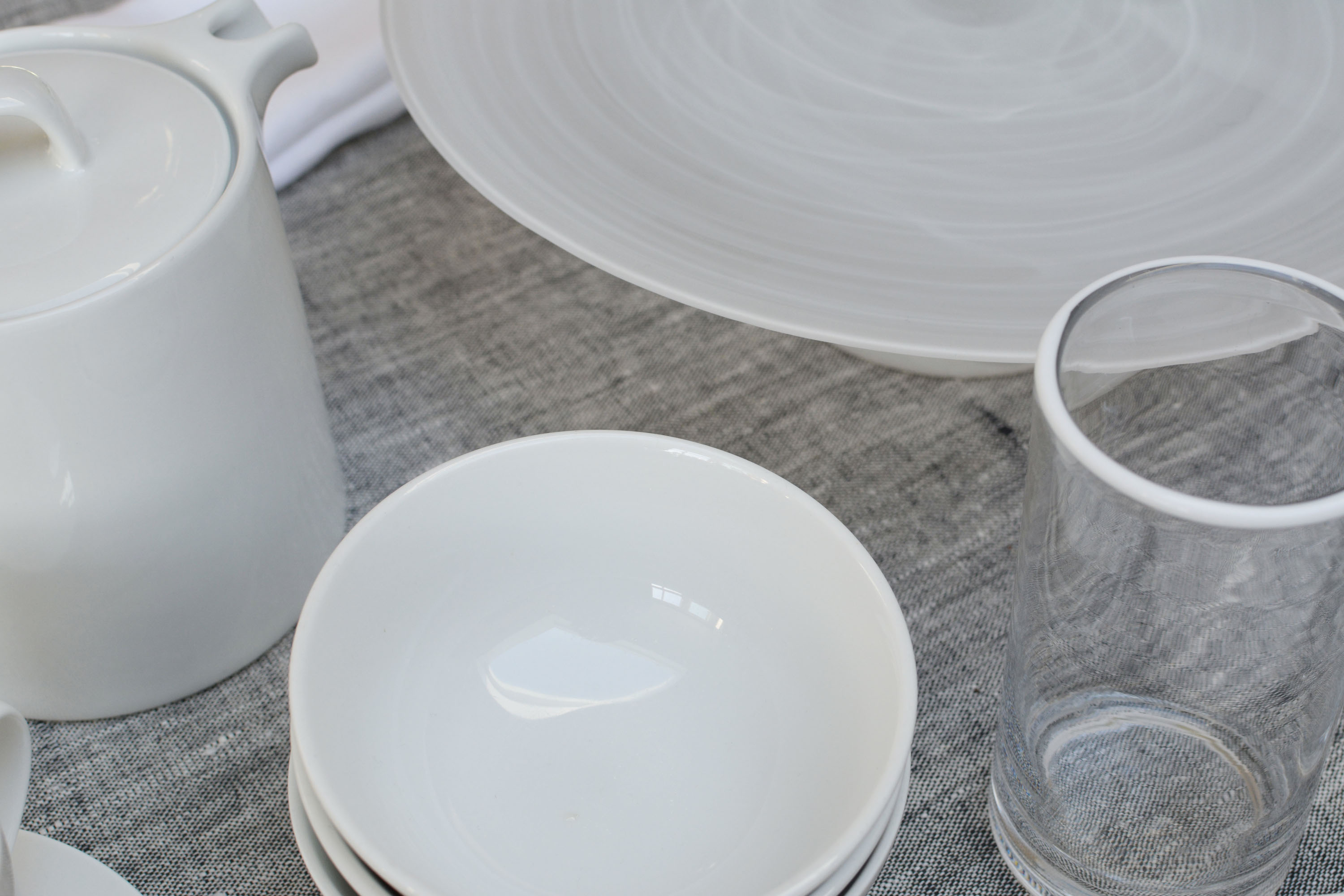 White Tableware Flat 15 Blog