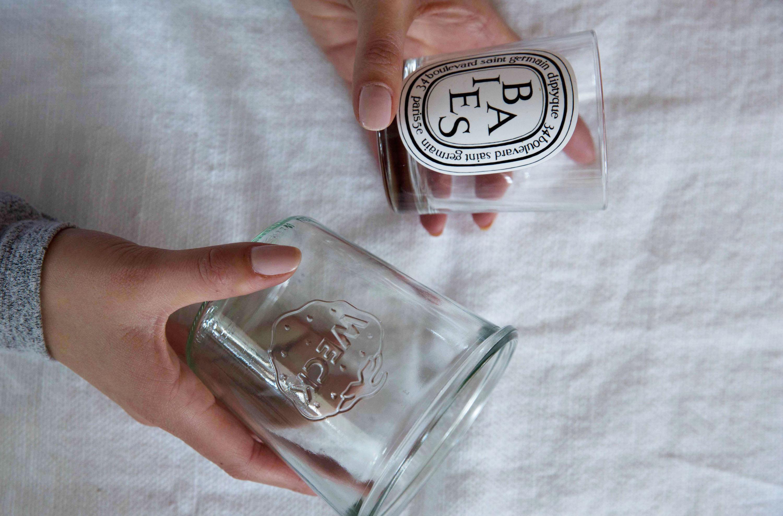 Rustic Glass Vases