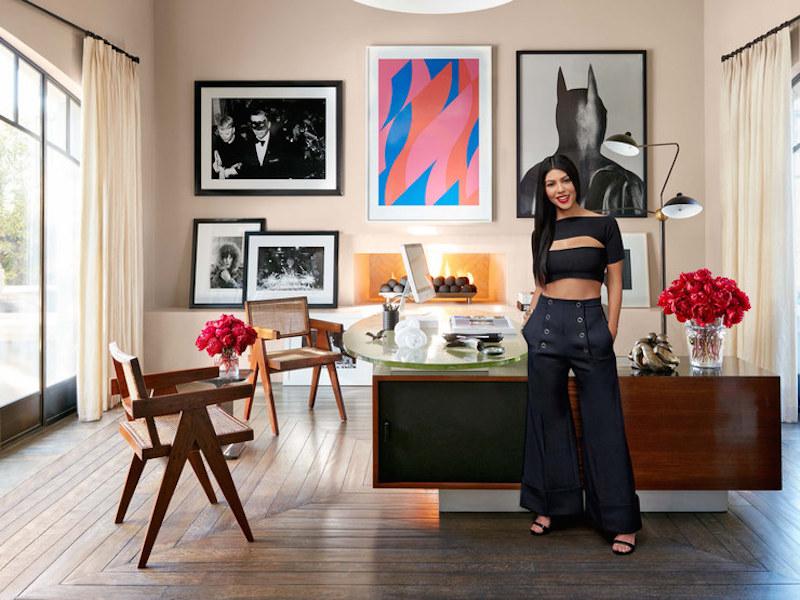Artwork inspiration i picked up from kourtney 39 s epic interior style flat 15 design lifestyle - Kardashian home design ...