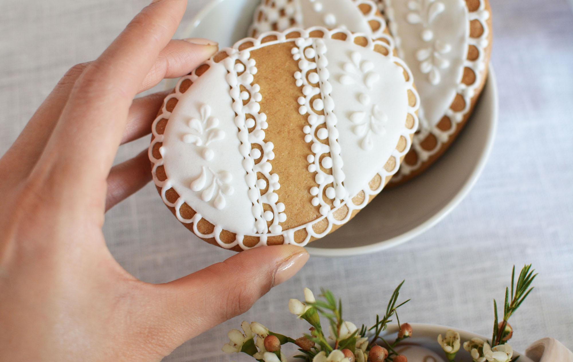 Easter Egg Cookies - Flat 15 Blog