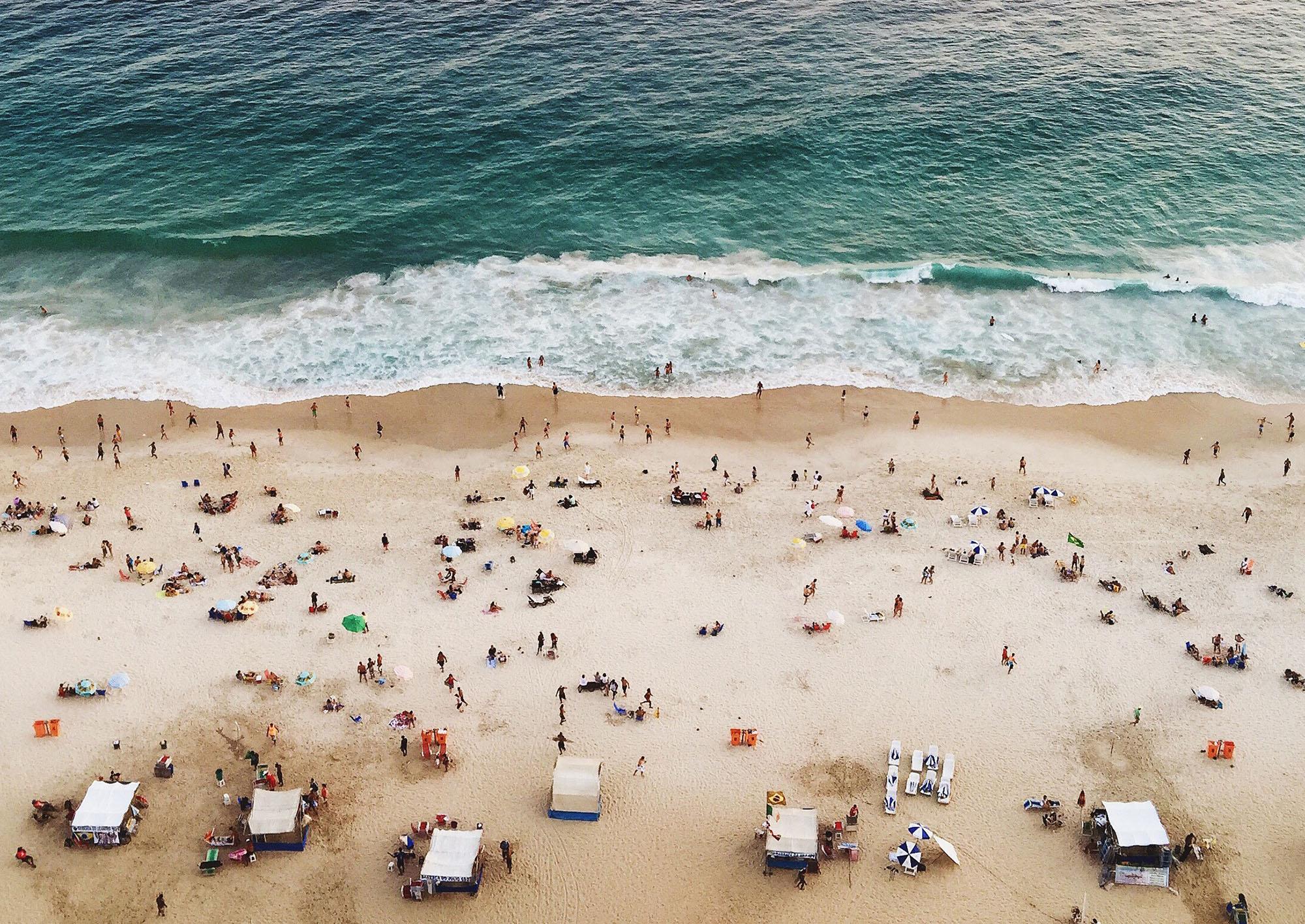 Ipanema Beach, Rio De Janeiro, Brazil. Photo by STUDIO 1208