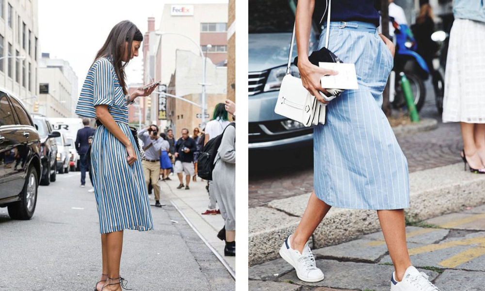 Currently Feeling : Blue + White Stripes