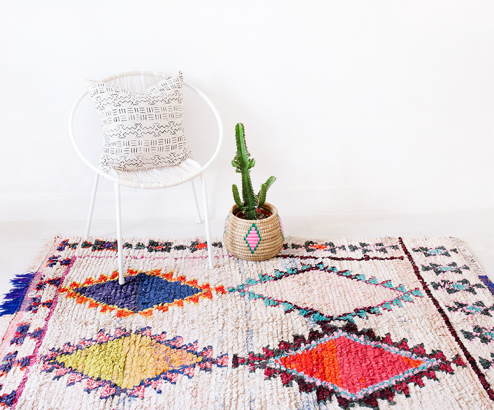 Colorful Moroccan Rug copy