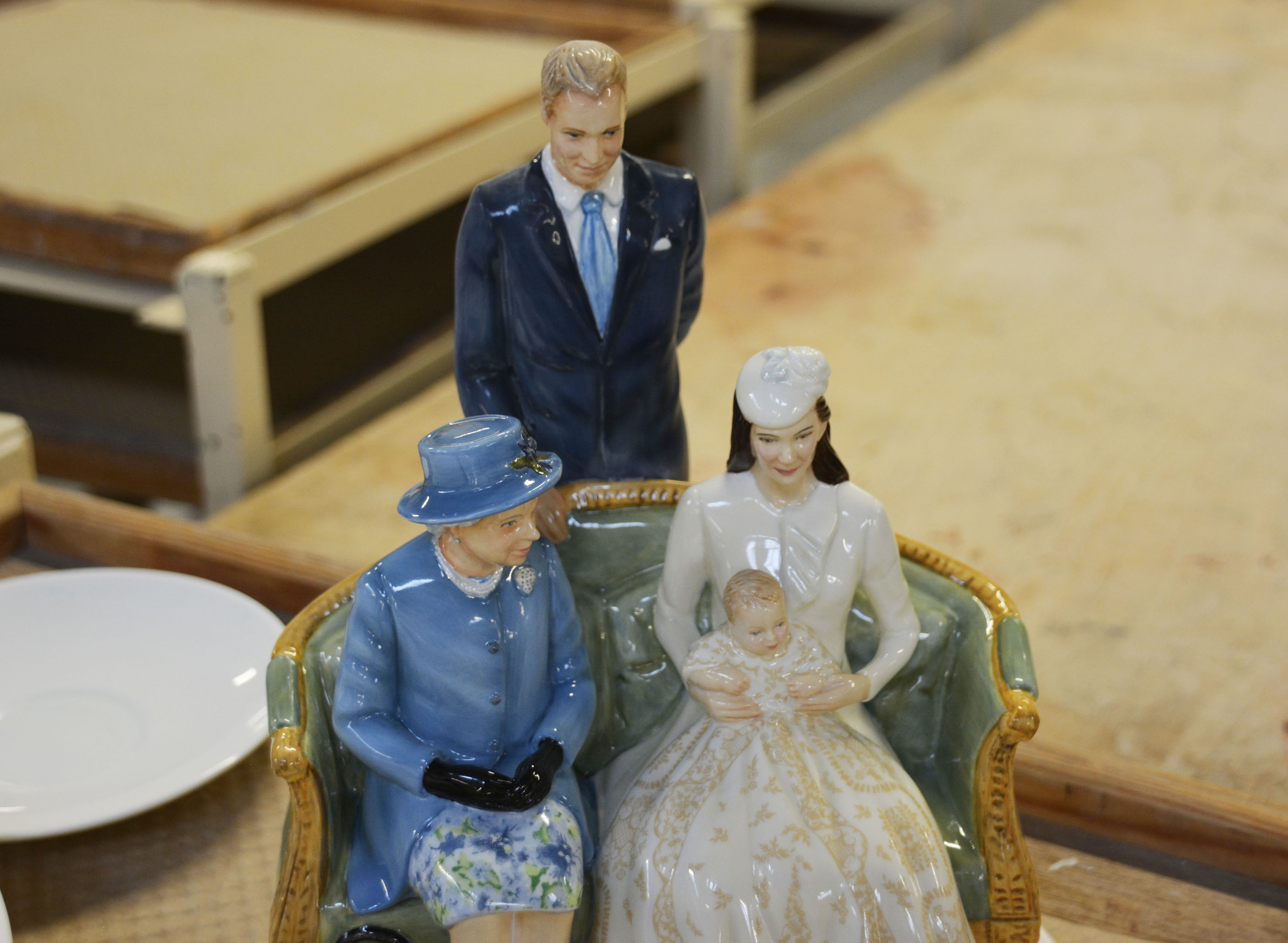Wedgwood Ceramic Royal Family