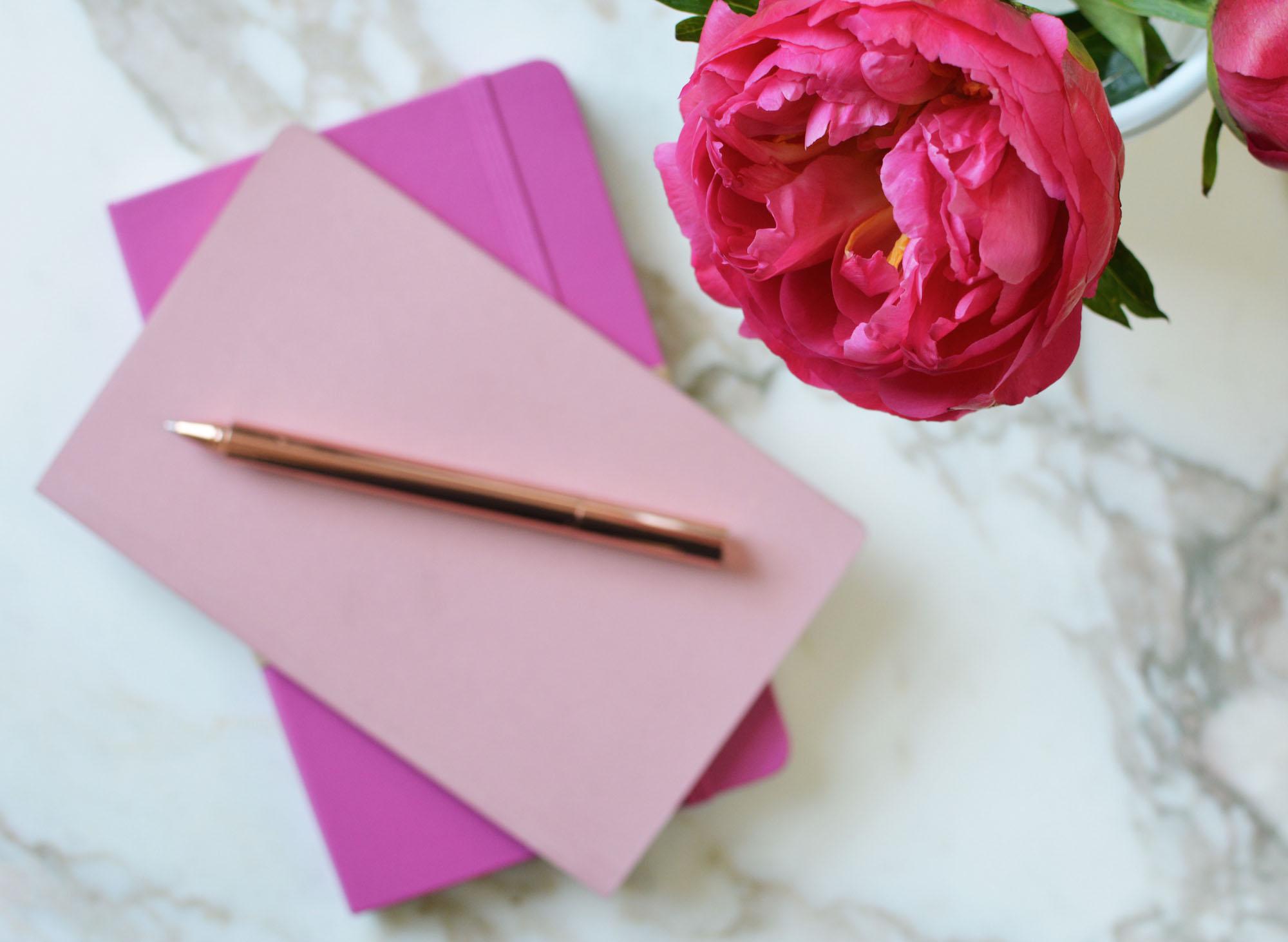 Pink Notebook 2
