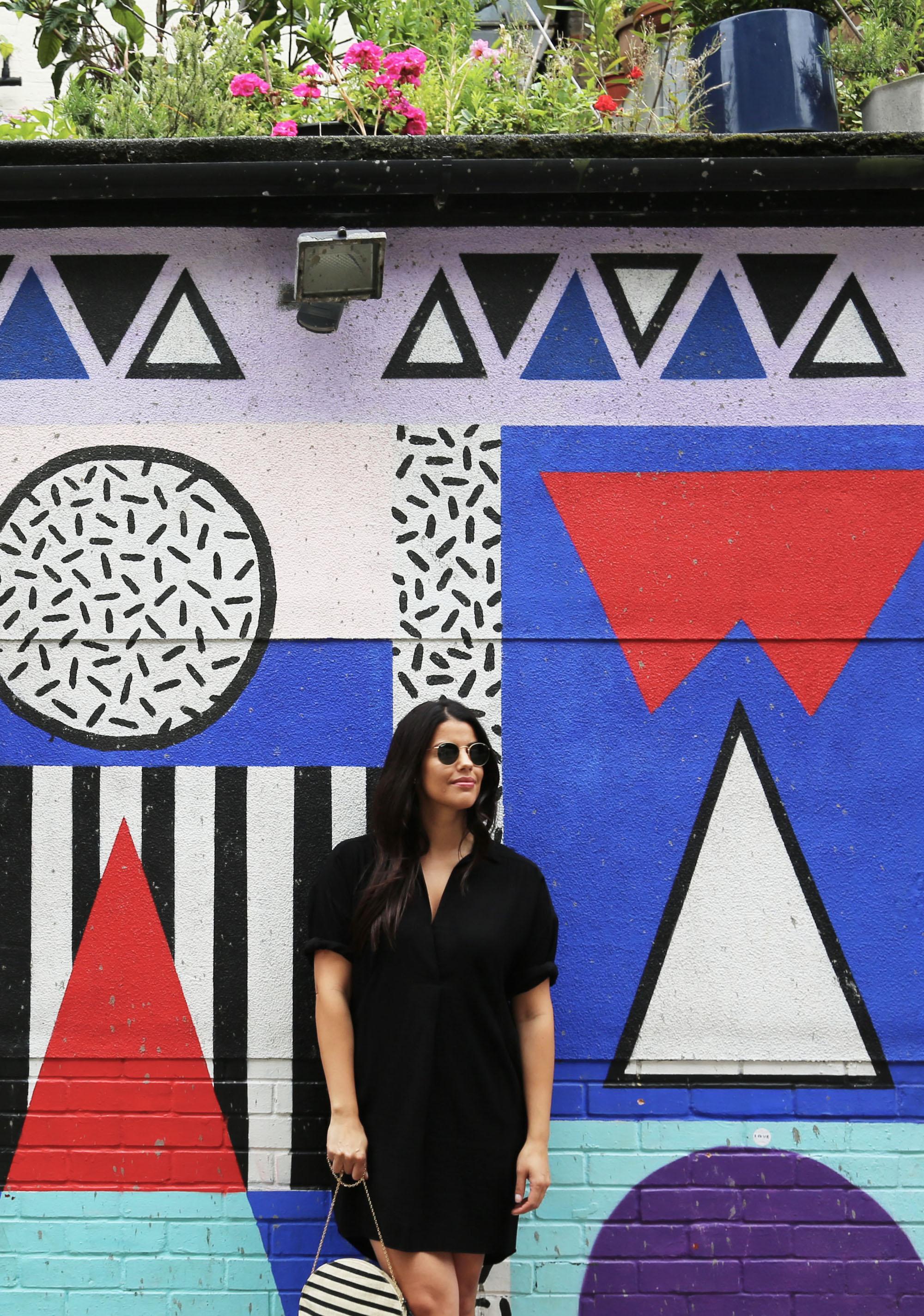 Shoreditch London Art Wall