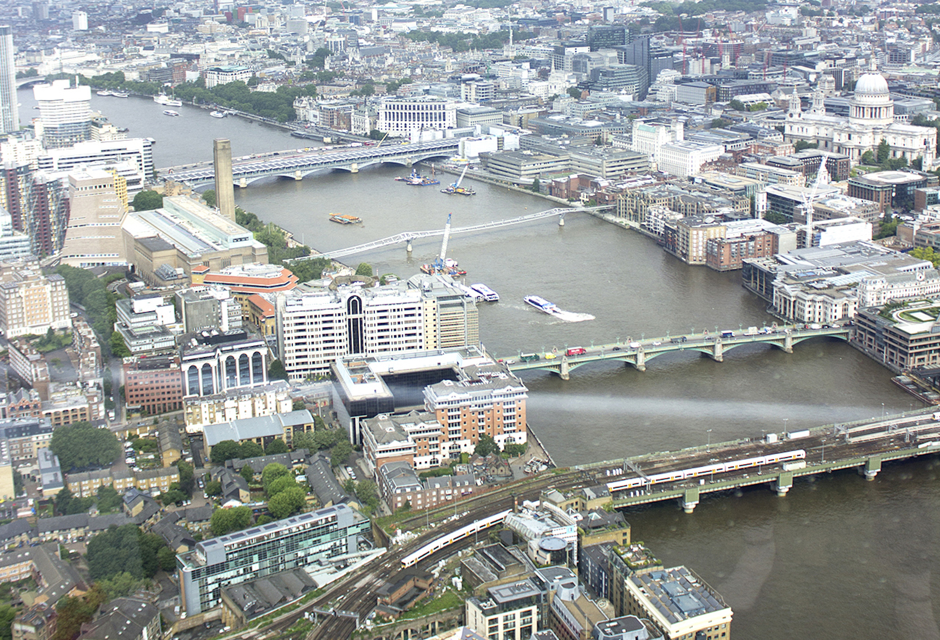 View From Top Of The Shard.