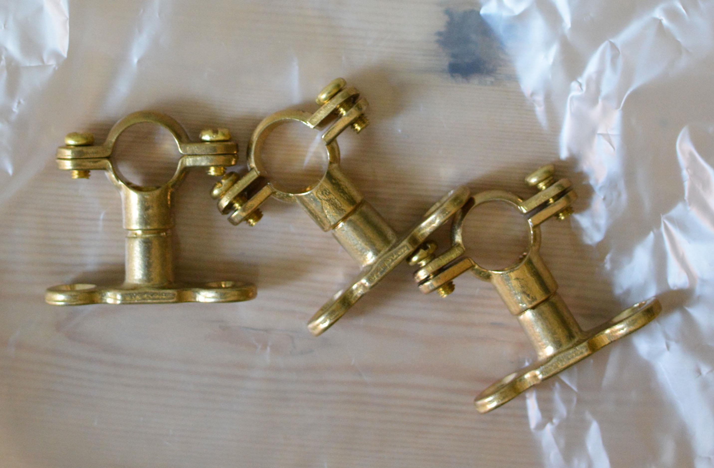 gold hooks
