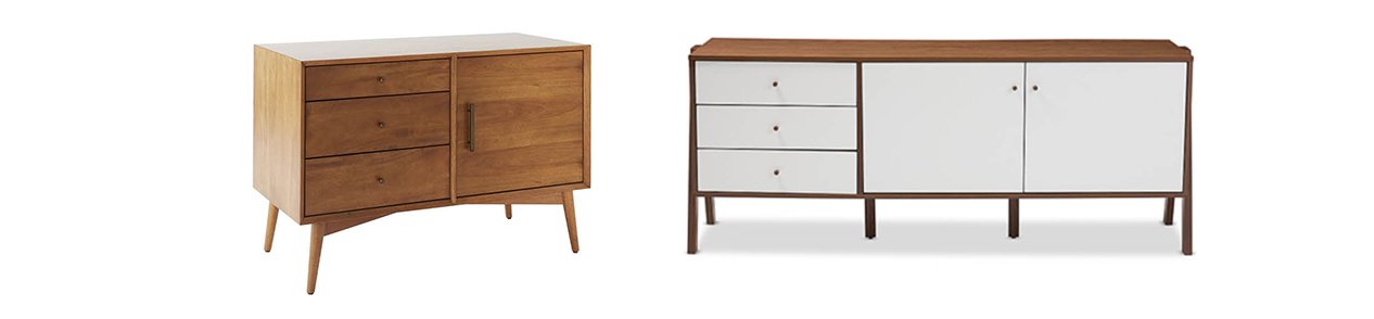 chic interior style sideboard
