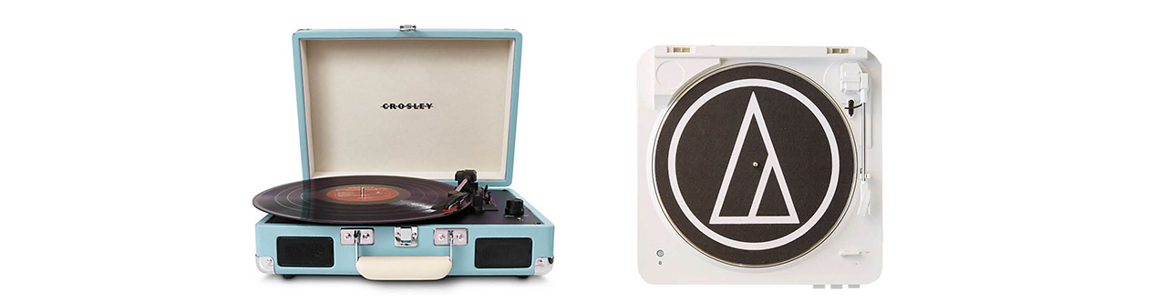 chic interior style record player