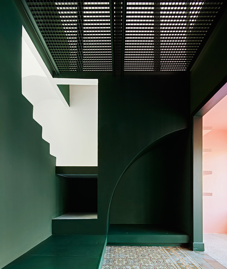 green pink inspiration