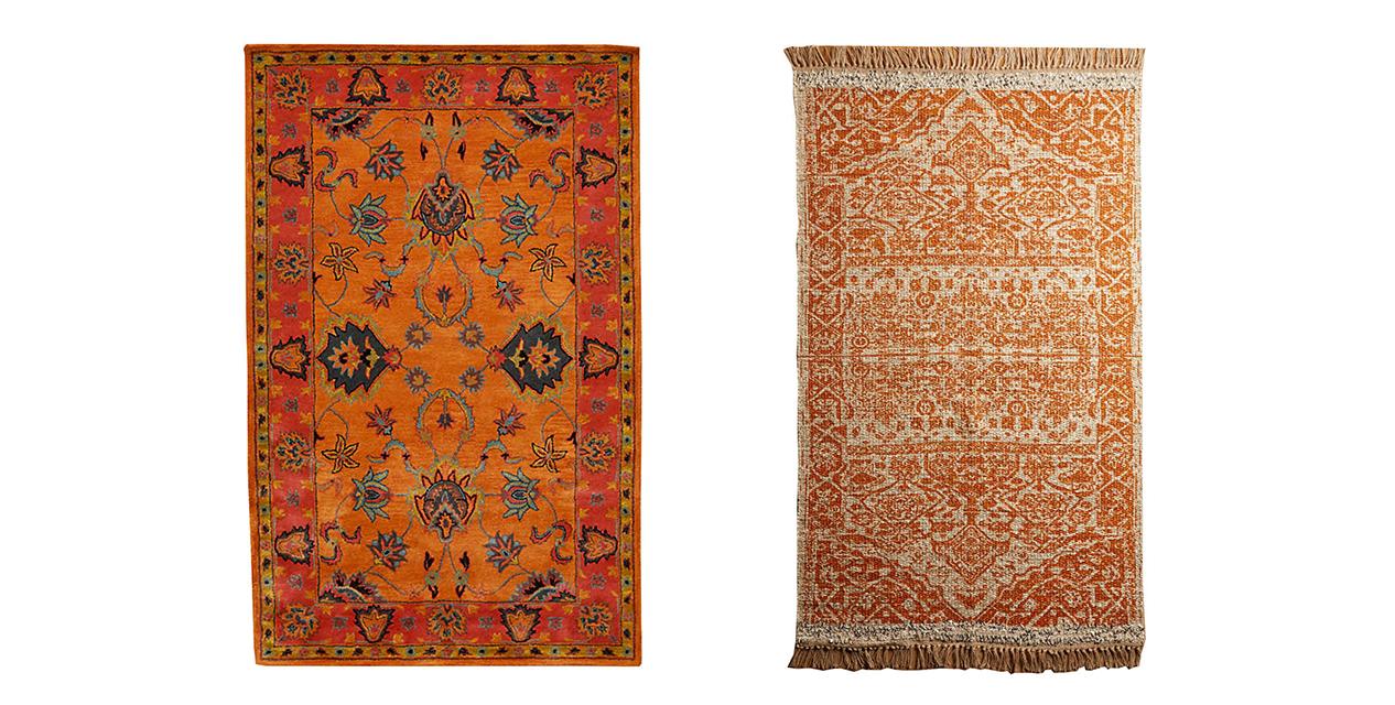 chic interior style bold rug