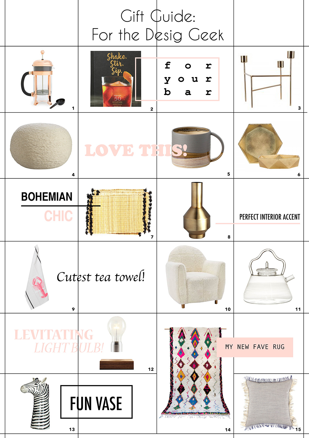 gift guide home design