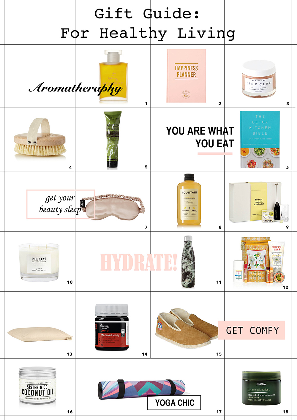 gift guide wellness