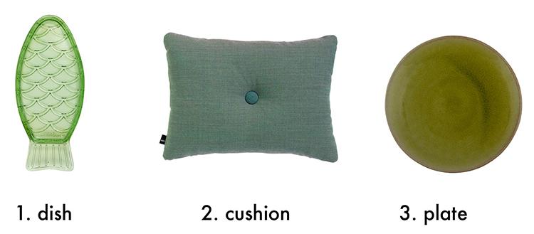 object green interior design