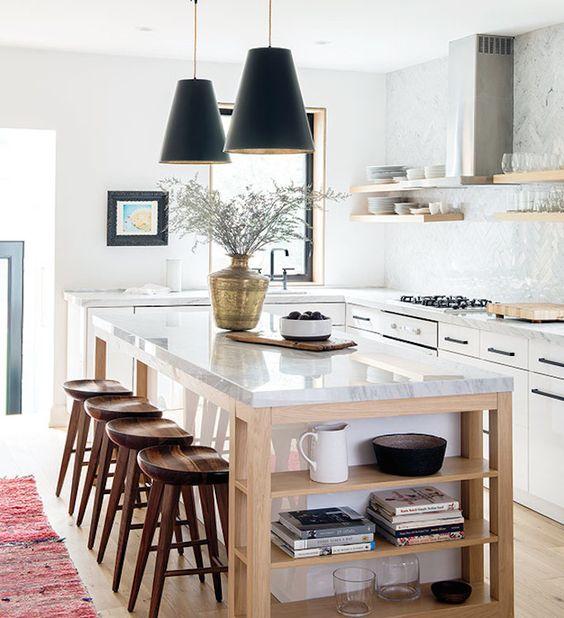 wooden-kitchen-stools