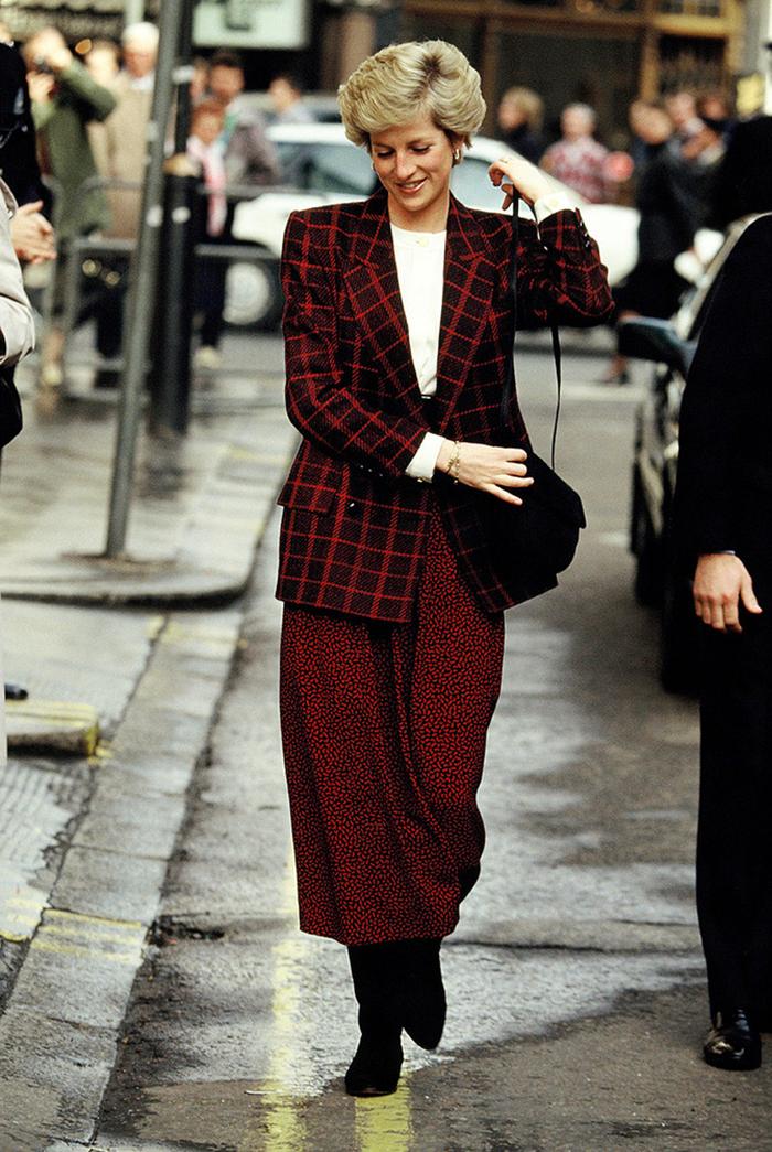 Princess Diana Style Icon Flat 15 Design Lifestyle