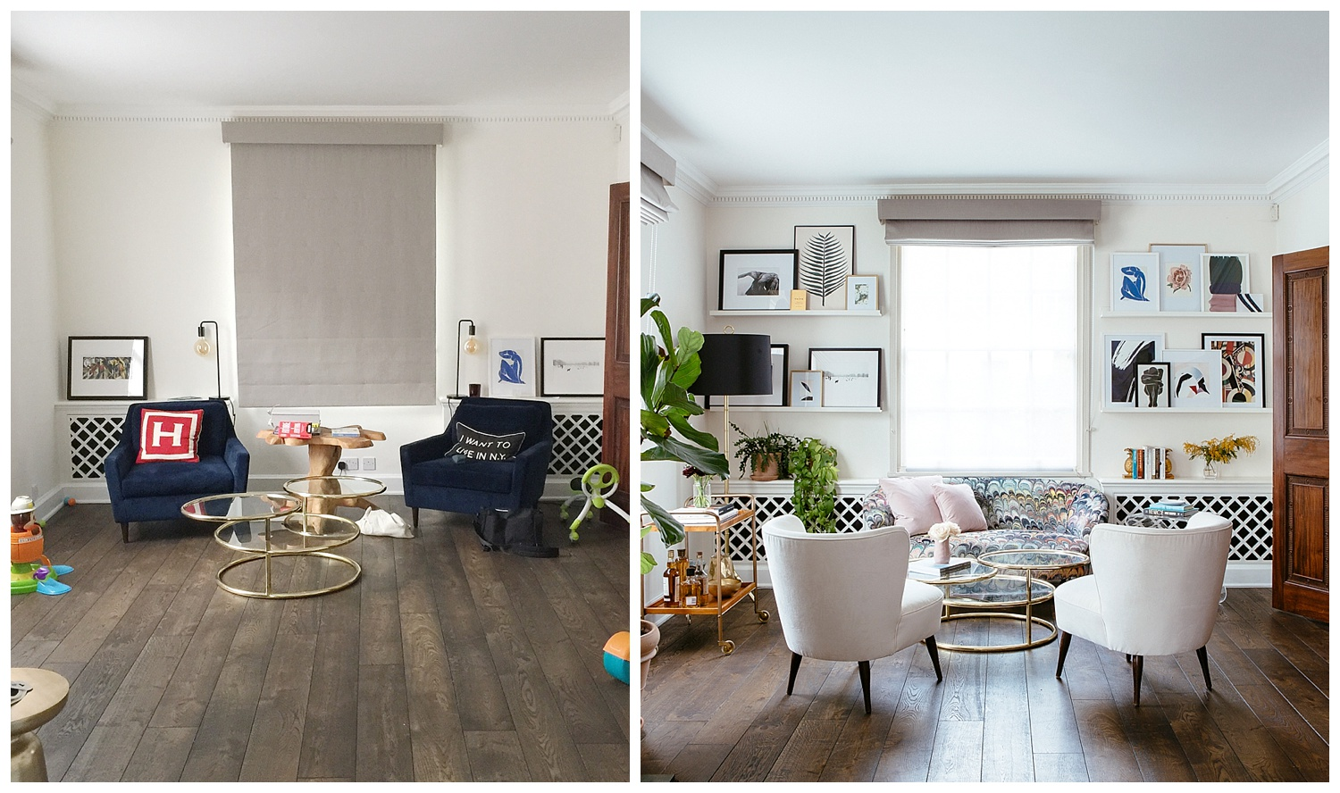 Living Room Before After Flat 15 Design Lifestyle